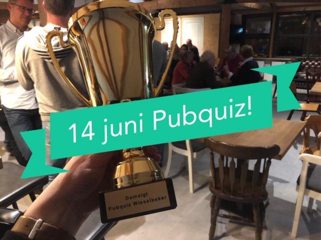 14 juni: de tweede Damsigt Pubquiz!!