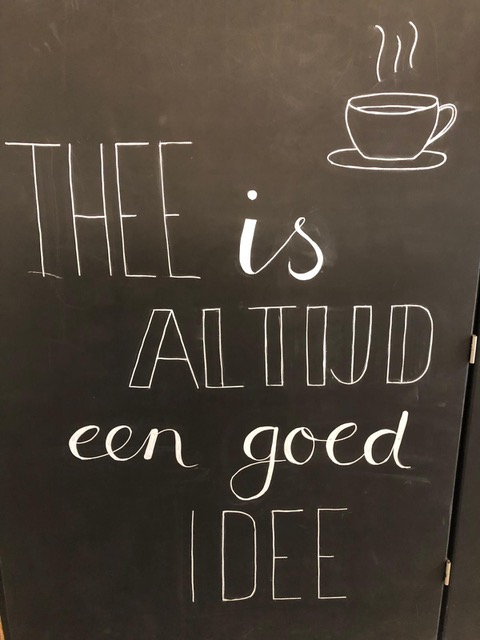 Thee op de Koffieochtend!