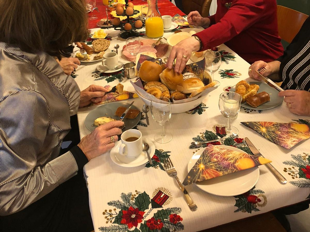 Kerstlunch in De Boot